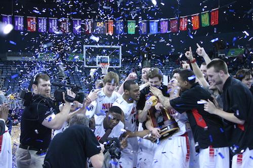 The NCAA Division II Men's Basketball Elite 8